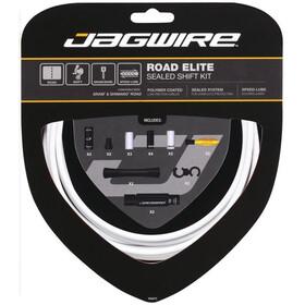 Jagwire Elite Sealed Schaltzugset weiß